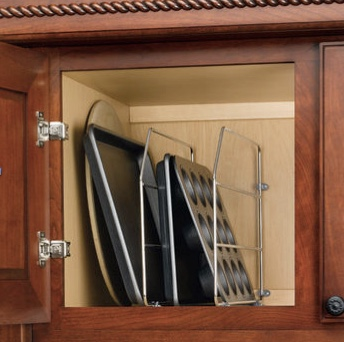 Deep Kitchen Cabinet, Storage, Platters, Store Platters Store Big Items