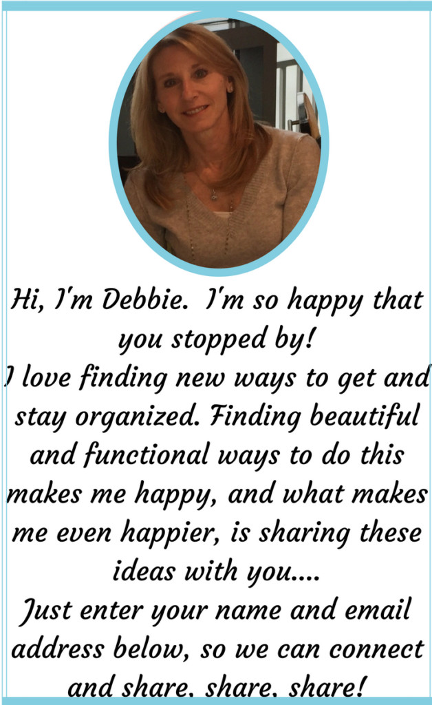 Hi! I'm Debbie. I'm so happy that you stopped by! Enter your name and address below