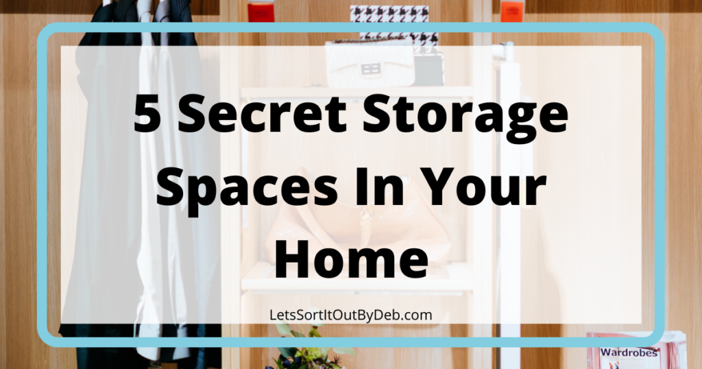 Find the Hidden Storage in Your House