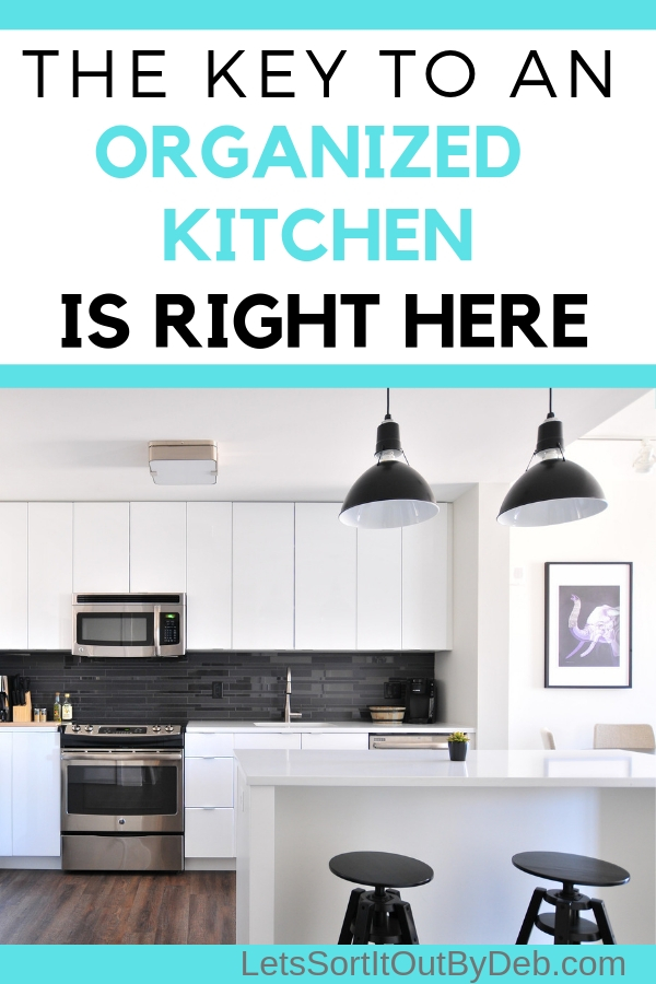 A Organized and clean kitchen