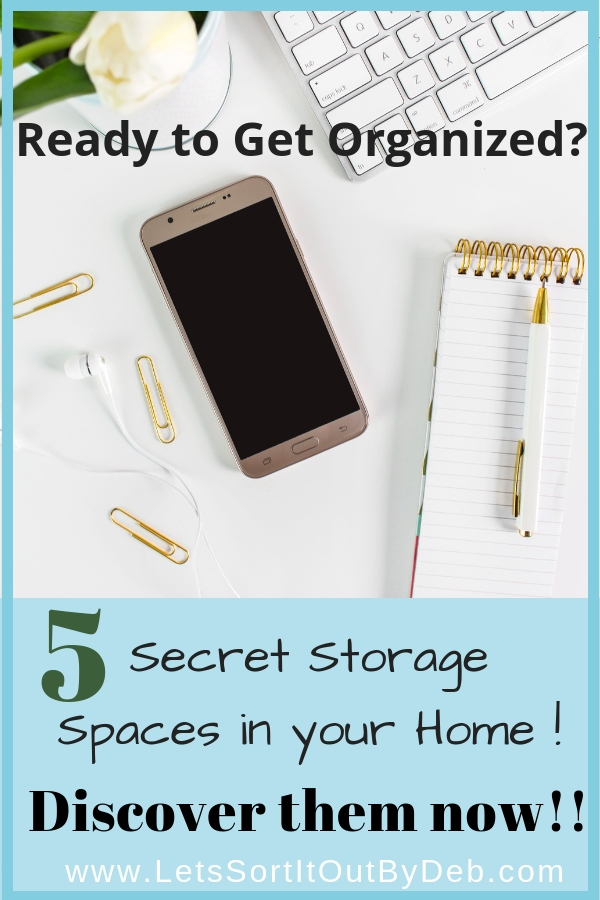 5 Secret Storage Spaces in your Home!