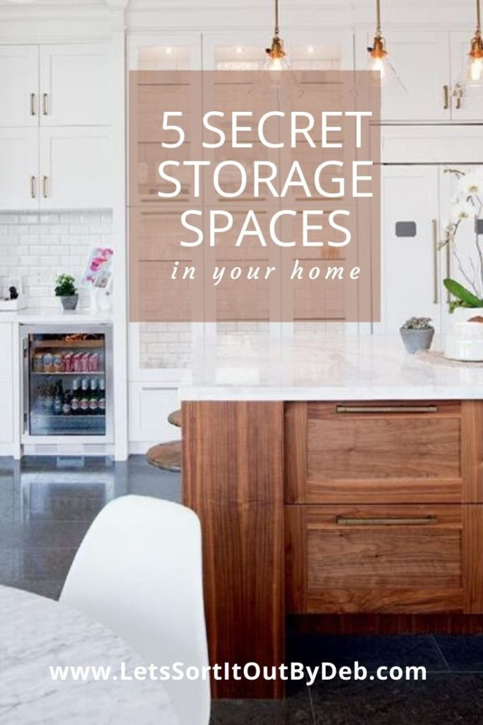 Secret Storage Spaces in Your Home