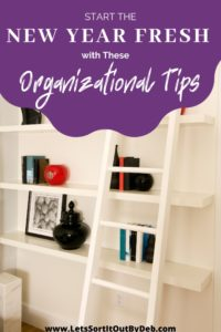 Start the New Year Fresh with these Organizational Tips purple text