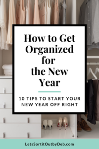 organization tips for the new year