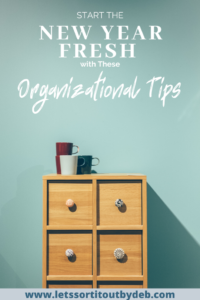 Organizational Tips For the New Year