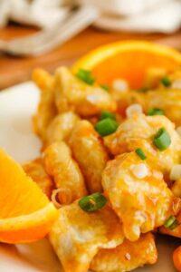 Air Fryer Orange Chicken