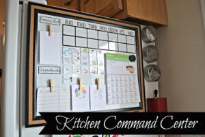 Fridge Kitchen Command Center